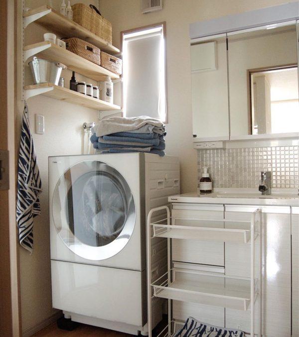 おしゃれで使い勝手の良い洗面所
