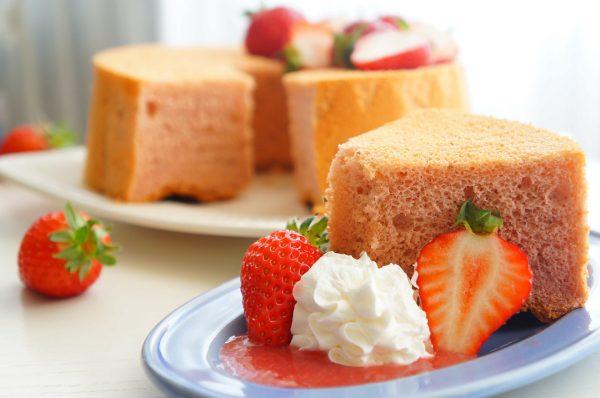 薄力粉の使い道はケーキでも!シフォンケーキ