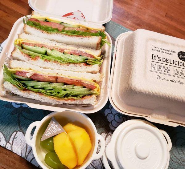 大人のおしゃれなお弁当レシピ特集♡サンドイッチ2