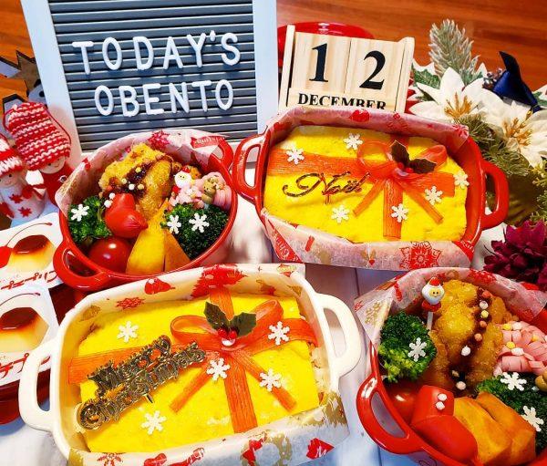 クリスマスちらし寿司弁当