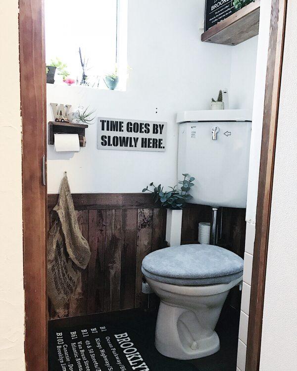 アパートトイレをセルフリノベーション