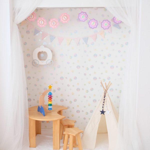 ティピーテントのある子供部屋インテリア3