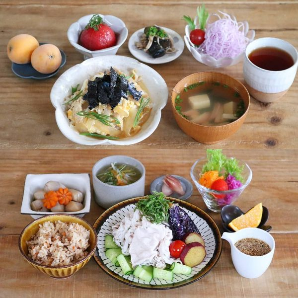 豆腐と青ねぎのお吸い物