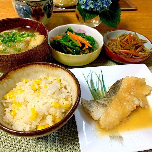 旬の魚を使ったレシピ