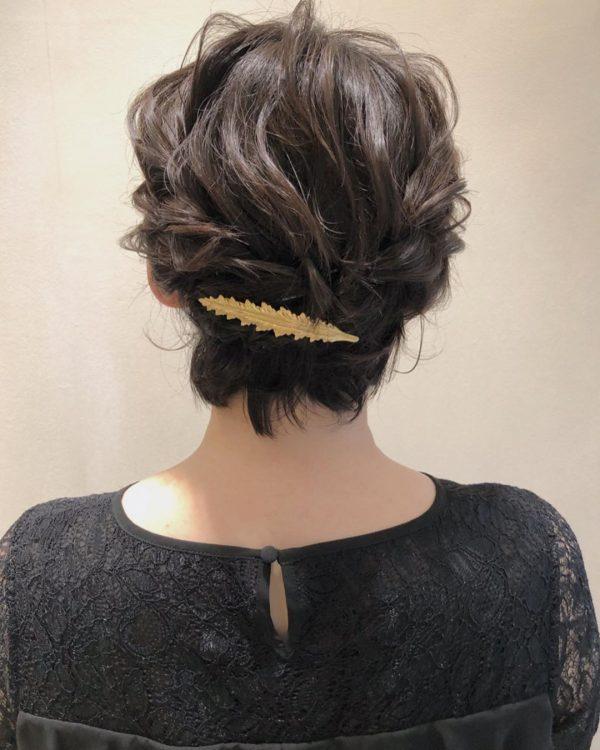 留袖姿におすすめの髪型4