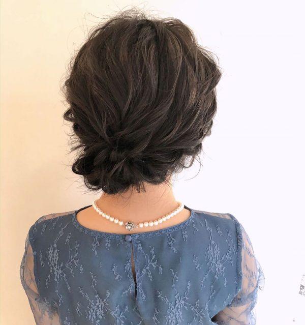 留袖姿におすすめの髪型8