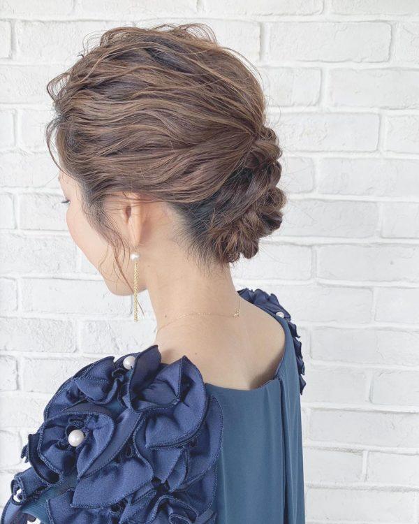 留袖姿におすすめの髪型12