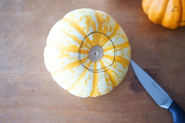 簡単に出来る♪ハロウィンかぼちゃランタンの作り方3