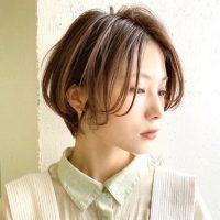 前髪なしのハンサムショートヘア!格好良いも女性らしさも叶える大人スタイル!