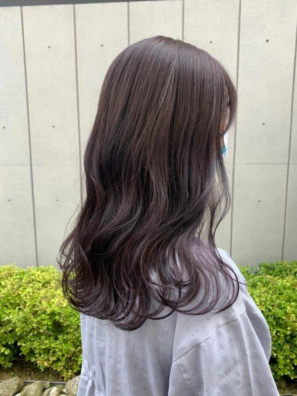 黒に近いおすすめの髪色《グレージュ系》4
