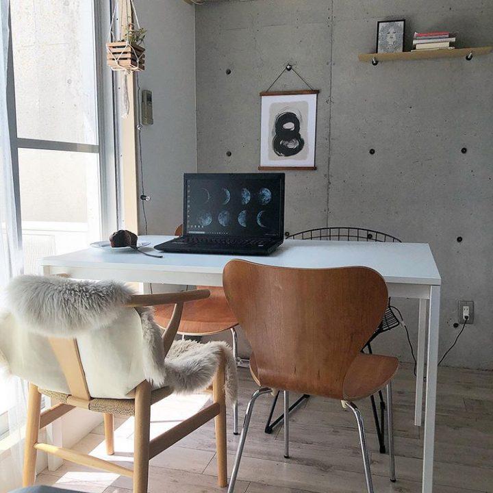 部屋も家具も、徹底的に調べ、慎重に選ぶ