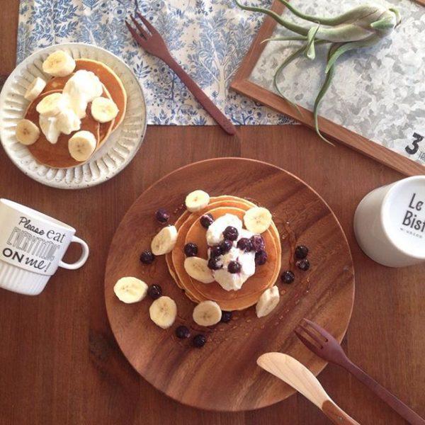 朝食にアレンジを!ホエー入りホットケーキ