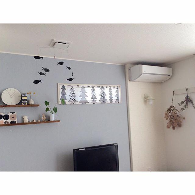 絵のように飾れるカフェカーテン