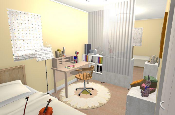 9畳洋室の場合(間仕切り可能な広さ)v