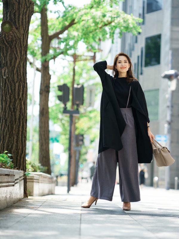 大人が着たい秋服【パンツスタイル】4
