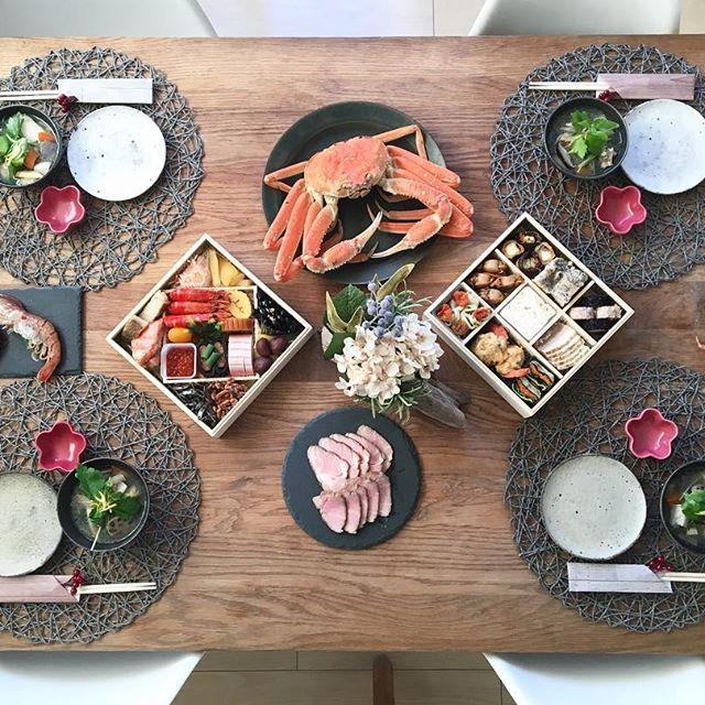 ハレの日の和食テーブルセッティング
