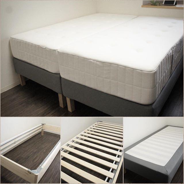 寝心地◎!高めベッドを配置したインテリア実例