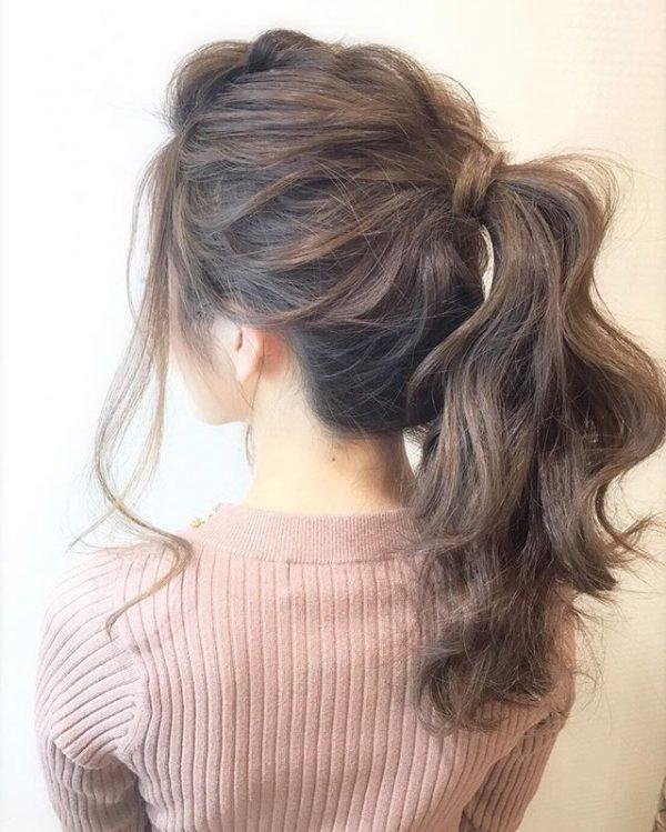 簡単♪仕事の日のまとめ髪《メンズライク系》4