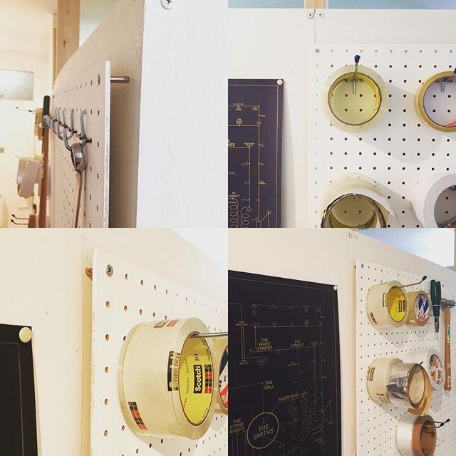 有孔ボードで作るDIY棚の作り方3