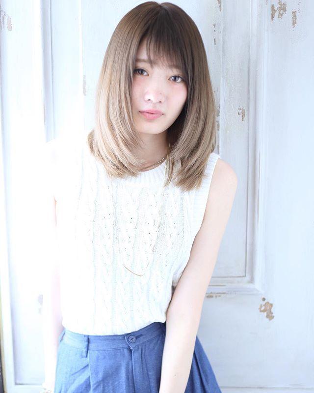縮毛矯正におすすめの髪型15