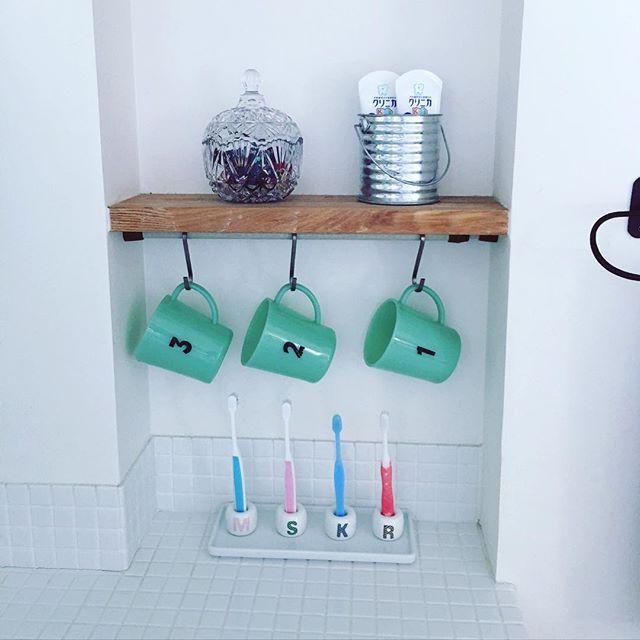 歯ブラシの収納アイディア6