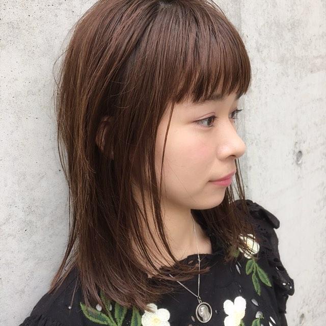縮毛矯正におすすめの髪型13