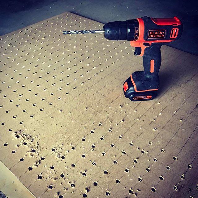 有孔ボードで作るDIY棚の作り方4