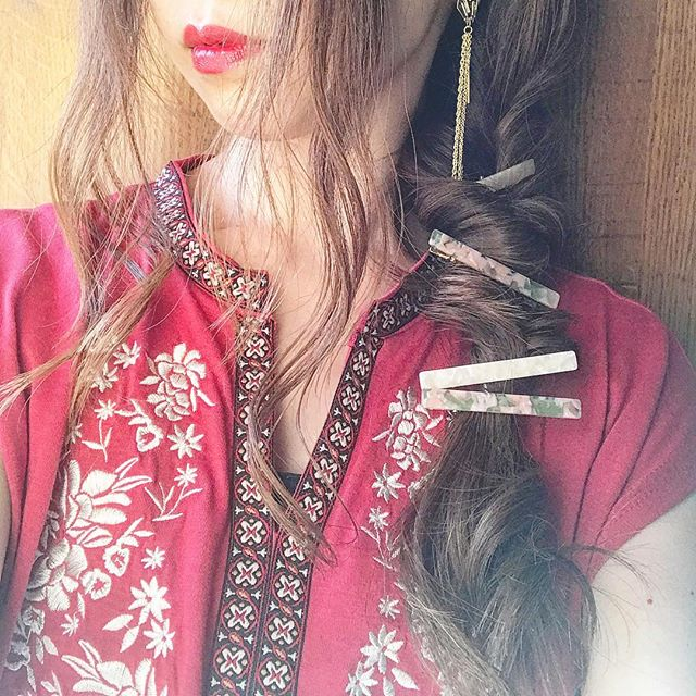 女子ウケするワンピースに似合う髪型