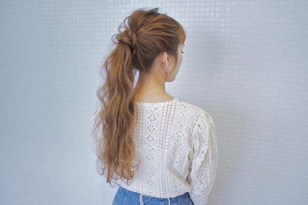簡単♪仕事の日のまとめ髪《シンプル系》4