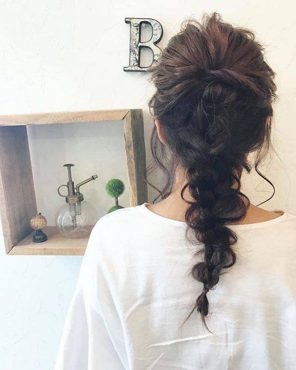 簡単♪仕事の日のまとめ髪《コンサバ系》3