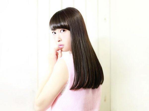色黒女性(イエベ)×黒髪
