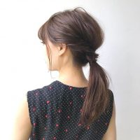 お仕事の日はまとめ髪できっちり感を!ミディアムヘアの簡単アレンジをご紹介