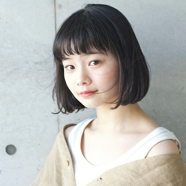 縮毛矯正におすすめの髪型8