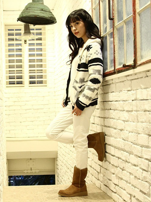 [ARKnets] UGG / アグ:Amie(Classic Slim Collection)-チェスナット-:1013428-CHE[DEA]