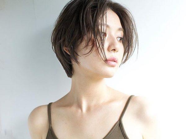 色黒女性(イエベ)×オリーブアッシュ