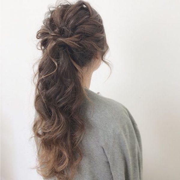 簡単♪仕事の日のまとめ髪《コンサバ系》4