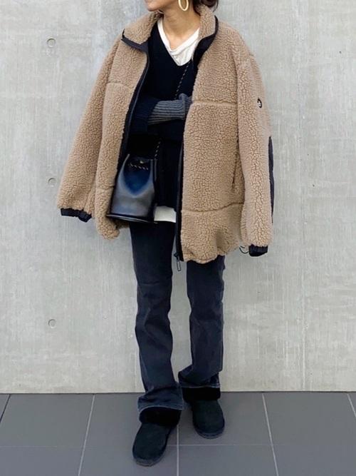 Fin ブーツ (ブラック系)