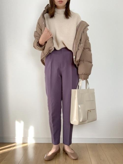 セーター×パンツの30代プチプラコーデ