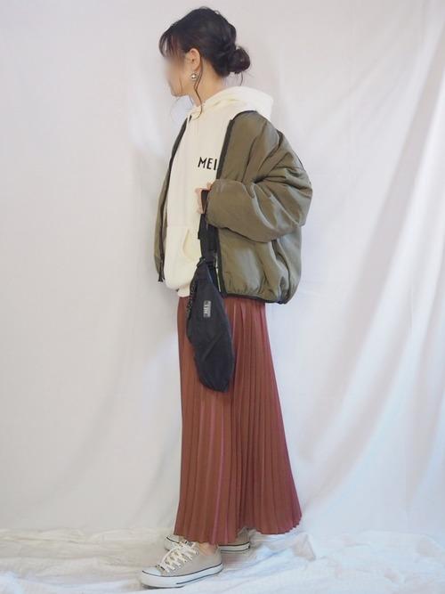 [Chaco closet] リバーシブルボアフリースジャケット