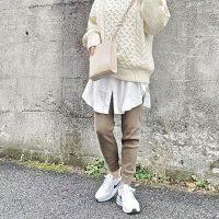 エアマックスコーデ【2020秋冬】おしゃれ上級者のレディースの着こなしを紹介!