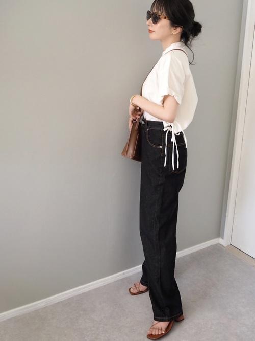 [TODAYFUL] ハーフスリーブドレスシャツ