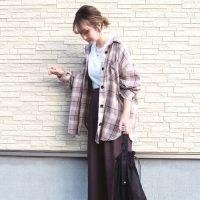 【ユニクロ・GU・しまむら】で作る♪秋のプチプラシャツコーデ集