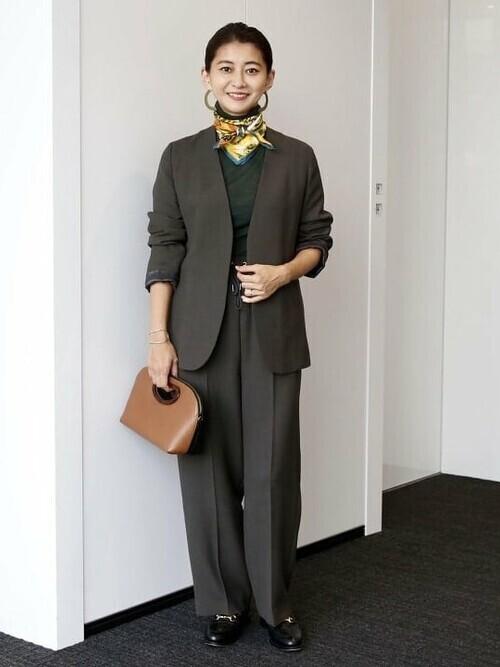 [BEAMS WOMEN] manipuri / KUIL シルクスカーフ