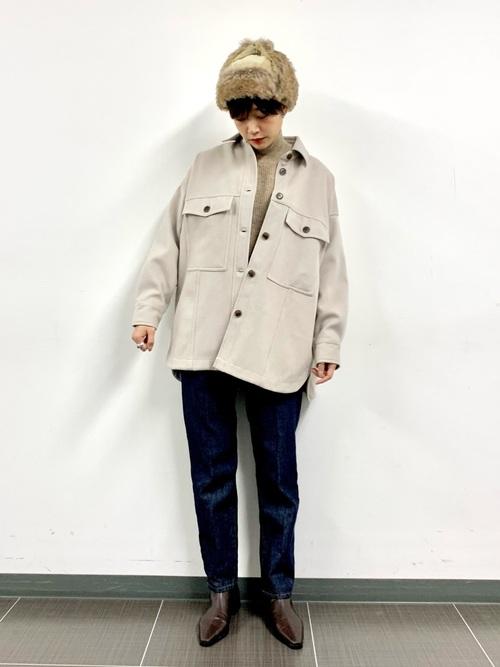 ファーフライト帽子×CPOジャケット