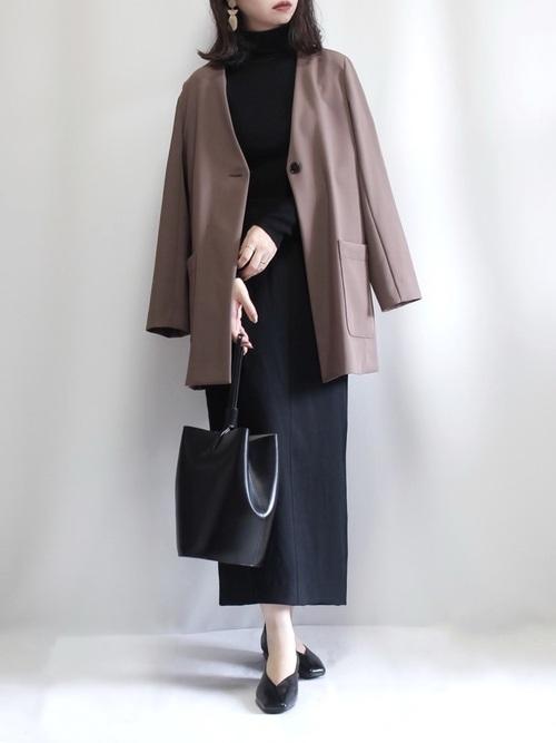 IENA ブランド:SLOBE IENA ウォッシャブルツイルタイトスカート【手洗い可能】◆