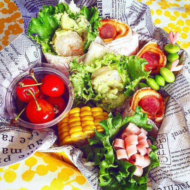 ピクニックのお弁当の詰め方☆パン