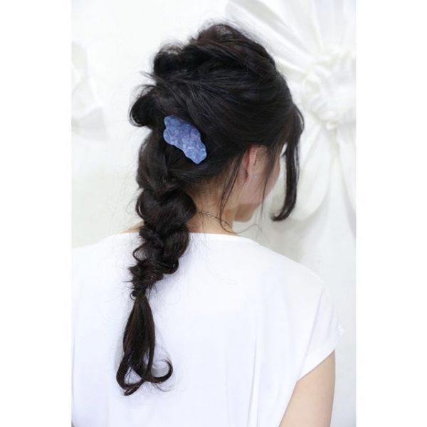簡単♪仕事の日のまとめ髪《フェミニン系》4