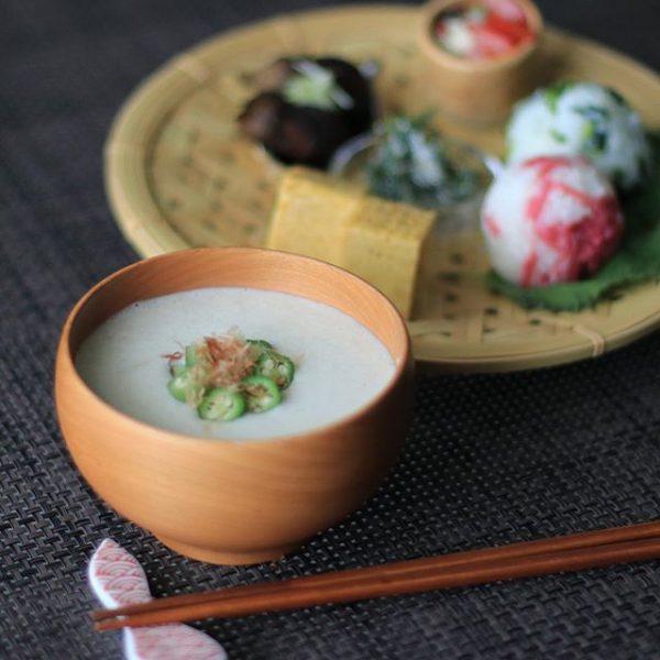 あっさりパスタに合う!里芋のひんやりスープ
