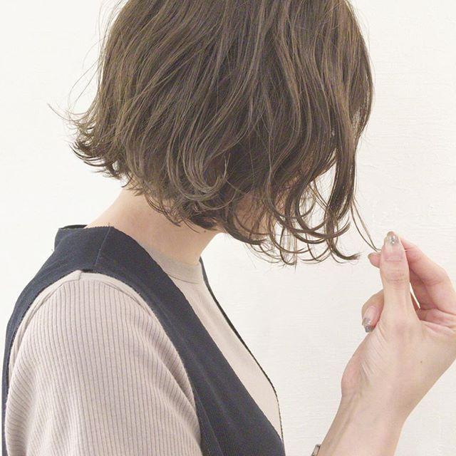 ショートヘア×外ハネアレンジ17