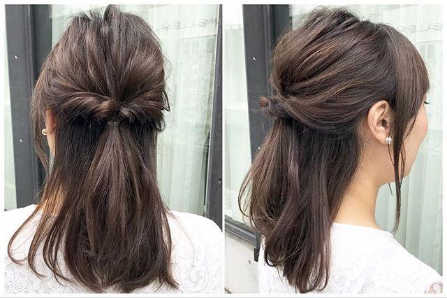 仕事におすすめのまとめ髪9